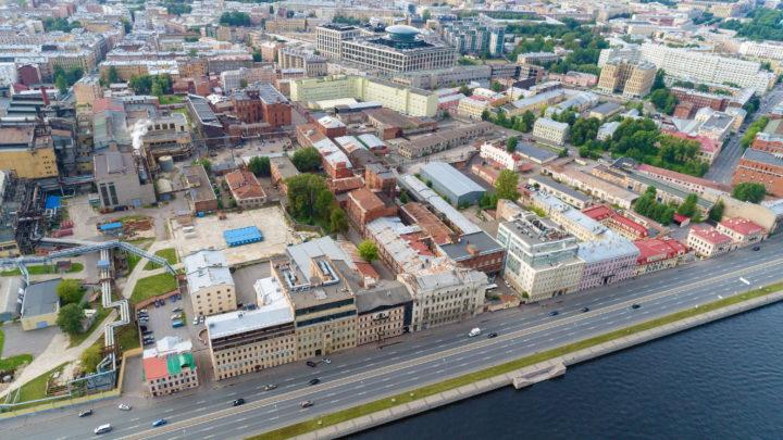 Бывший завод ЛИВИЗ в центре Питера – выставлен на торги ДОМ.РФ